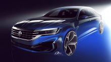 2020 VW Passat sneak peek | Redesigned for whoever's still buying sedans