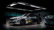 ¿Será así el Peugeot 508 Sport Engineered 2020?