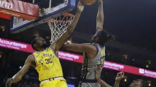 Tras muerte de amigo, Durant luce en triunfo de Warriors