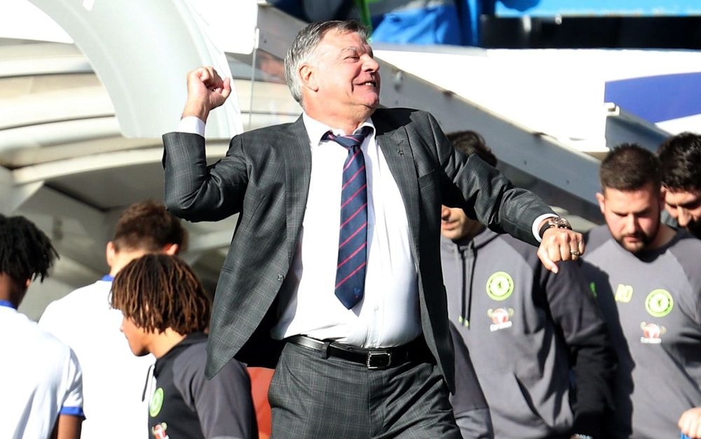 Allardyce has led Palace to four wins on the trot - Rex Features
