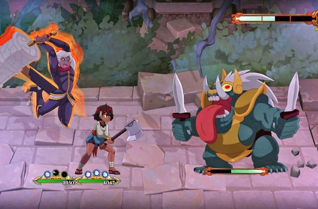 Hand-drawn RPG 'Indivisible' finally arrives October 8th