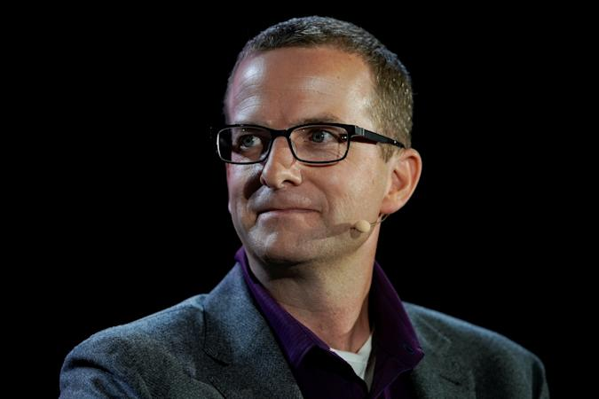 Mike Schroepfer, Chief Technology Officer at Facebook speaks at the WSJTECH live conference in Laguna Beach, California, U.S. October 21, 2019.    REUTERS/ Mike Blake