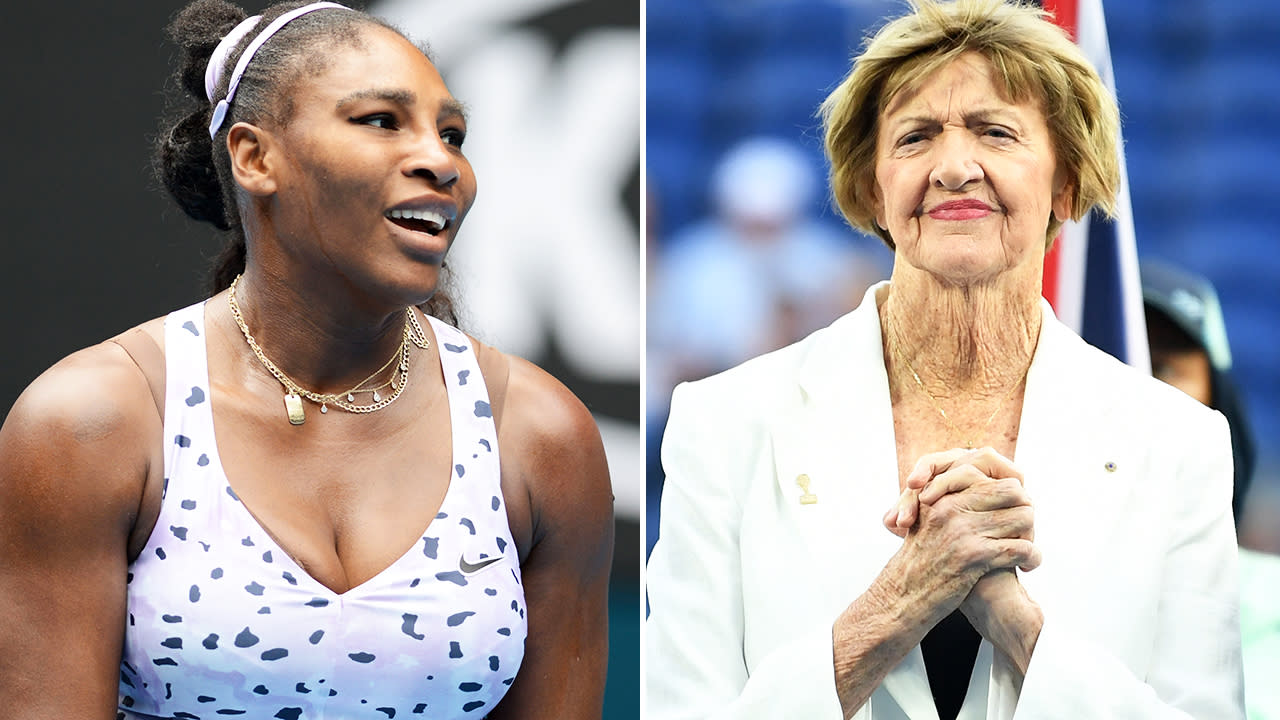 'She'll be suffering': Serena Williams caught in major Margaret Court drama