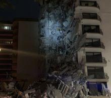 Miami building collapse: rescuers search rubble for survivors