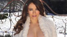 Liz Hurley, 55, risks nip-slip in topless snap: 'An outrage'