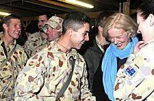 Aussie soldiers abroad receive surprise visitor, free Wii