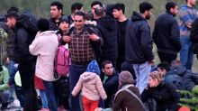 EU-bound migrants scuffle with Bosnian police near border