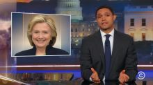 Hillary Clinton called out by 'The Daily Show' for handling of harassment claims