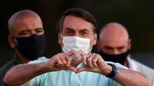 Bolsonaro's poll numbers rise in Brazil despite virus