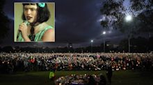 Thousands attend vigil for comedian found murdered and raped on soccer field