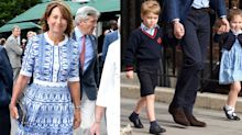"Prince George And Princess Charlotte Play 'Shopkeepers"" At Work With Grandma Carole Middleton"