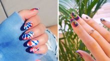 Tie-Dye Nail Art Is the Coolest Manicure Trend of the Summer