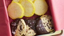 Slice-and-Bake Shortbread Cookies