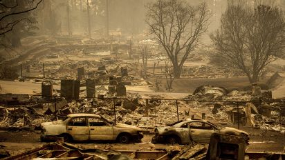 Rain to impede Calif. fire victim recovery efforts