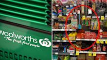 Woolworths customer outraged by display - can you see why?