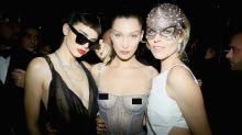 El baile de máscaras de Dior se llena de glamour y transparencias