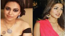 Swara Bhasker got badly trolled on twitter after she supported Rhea