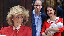 Hommage an Diana: Herzogin Kates Mutterschaftskleid erinnert an Williams Mutter