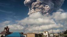 Volcano in Indonesia unleashes massive explosion