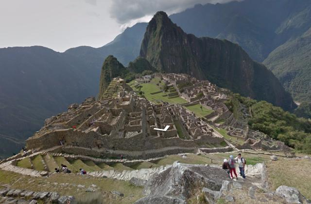 Explore Machu Picchu's Inca remains through Street View