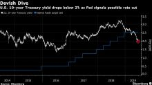 Treasury 10-Year Yield Slides Below 2% to Lead Global Decline