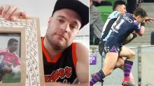 Brother of footballer killed by shoulder charge fumes over Billy Slater saga