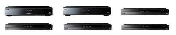 Sony launches six new DVRs, all write to BDXL and play back in 3D