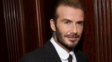 David Beckham Gets Emotional After His Son Brooklyn Surprises Him on His Birthday