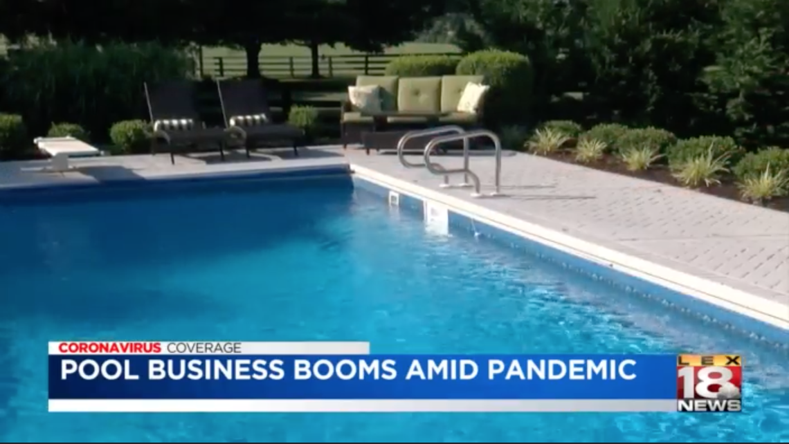 Pool sales are skyrocketing during the COVID-19 pandemic. 'Nobody can keep up'