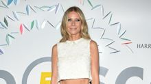 Gwyneth presume de abdomen con este total white