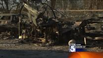 RV Parking Area Reduced to Ashes in Springs Fire