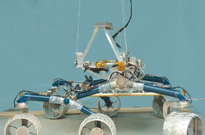 NASA's Scarecrow rover to scour Mars in 2009