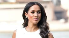 Pregnant Meghan Markle Gets Her First Baby Gift — Uggs, Wears a Form-Fitting Dress on Australian Tour