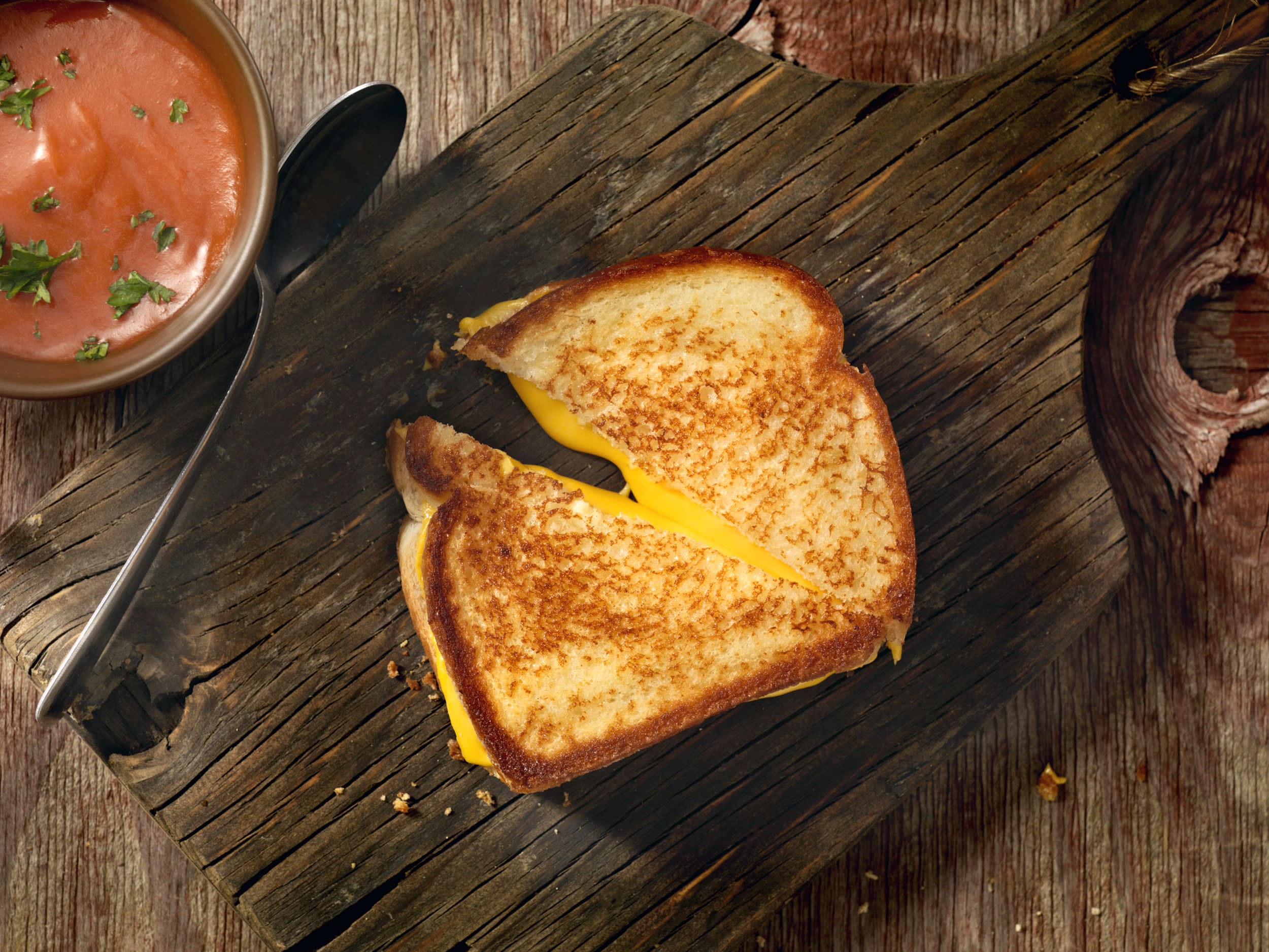 A better way to make grilled cheese