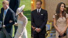 Harry and Meghan's post-wedding PDA