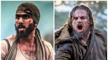 Did Shahid Kapoor take inspiration from Leonardo DiCaprio for his look in Rangoon?