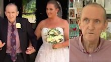 Man who had deadly liver disease walks daughter down the aisle