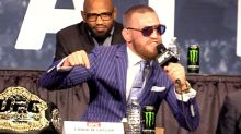 Conor McGregor Willing to Give Up a Belt, No Army Required