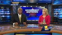 Shutdown affects Naval Academy, federal workers