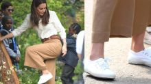 You Can Get Kate Middleton's All-Time Favorite White Sneakers for Just $42 Today