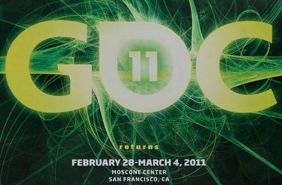 Save the date: GDC 2011, Feb. 28 - March 4