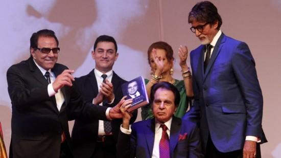 Bollywood Celebs At Dilip Kumars Autobiography Launch