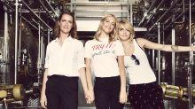 Cara Delevingne and sisters Chloe and Poppy launch Prosecco brand Della-Vite