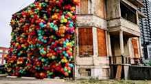 Beakerhead Installation Turns Calgary House Into An Homage To 'Up'