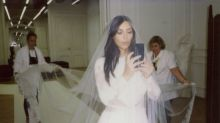 Kim Kardashian Reveals the First Look at Her Bridal Beauty Collection