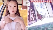 Chinese influencer falls to her death from crane while filming live video