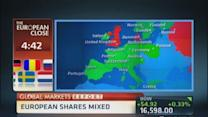 European markets close: Euro weakens