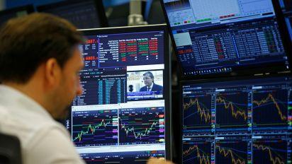 Stocks mixed, GE jumps