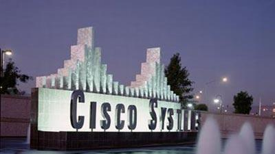On a Big Down Day, Cisco's Optimism Stands Ou