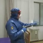 Russian Military Disinfects Lombardy Nursing Home to Help Italy Coronavirus Fight